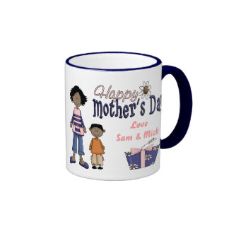 Happy Mother s Day - Kids Present Mugs