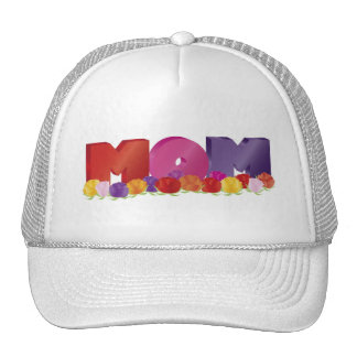 Happy Mother s Day MOM with Roses Hat