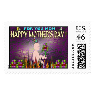 HAPPY MOTHER S DAY STAMP