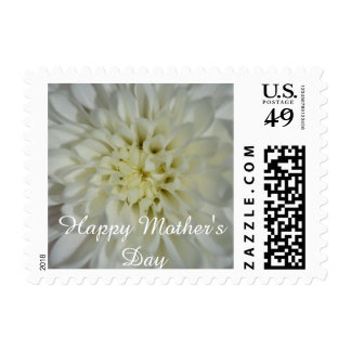 Happy Motherday (white blossoms) Postage