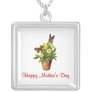 Happy Mother's Day (10) Silver Plated Necklace
