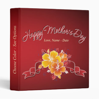 Happy Mother's Day 12 Binder