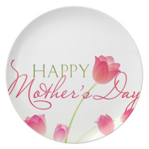 Happy Mothers Day 2013 Plates