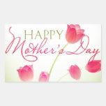 Happy Mothers Day 2013 Rectangular Sticker