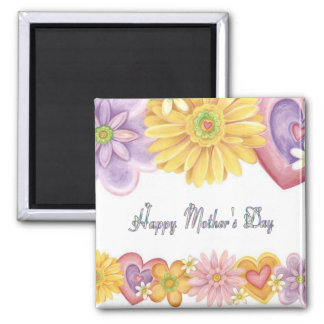 Happy Mothers Day 2 Inch Square Magnet