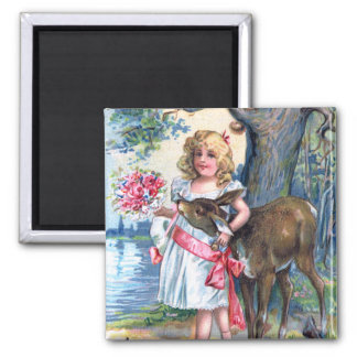 Happy Mother's Day 2 Inch Square Magnet