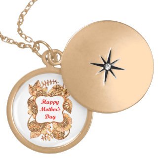 Happy Mother's Day 2 Locket Necklace