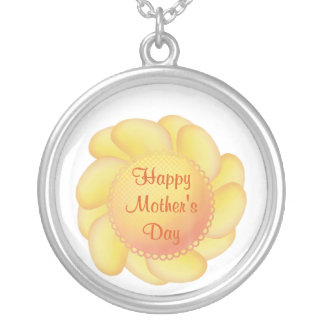 Happy Mother's Day (2) Silver Plated Necklace