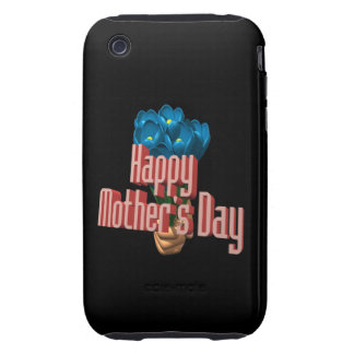 Happy Mothers Day 3 Tough iPhone 3 Case