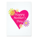 """Happy Mothers Day 5"""" X 7"""" Invitation Card"""