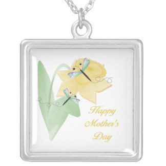 Happy Mother's Day (7) Silver Plated Necklace