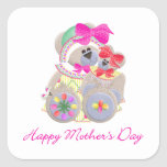 Happy Mother's Day (9) Square Sticker
