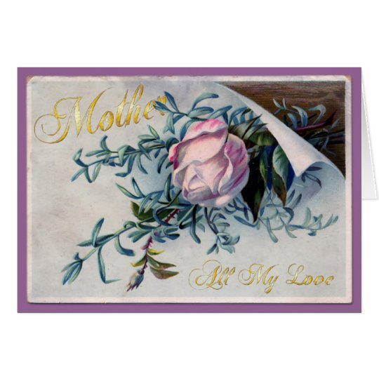 Happy Mother's Day - All My Love - 3 Card