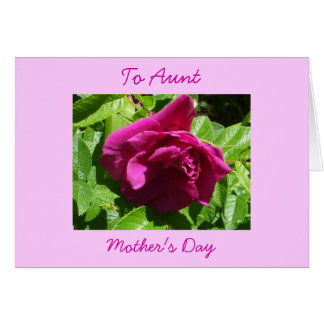 Happy Mother's Day-Aunt Card