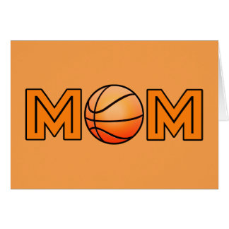 Happy Mother's Day Basketball Mom Card