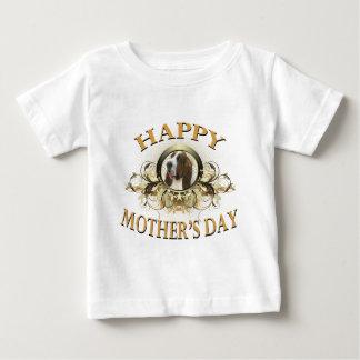 Happy Mother's Day Bassett Hound Baby T-Shirt