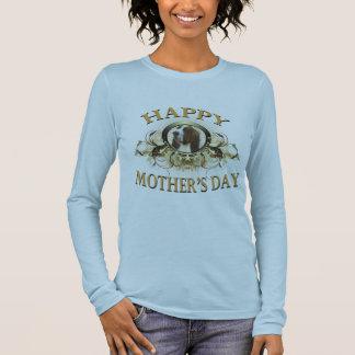 Happy Mother's Day Bassett Hound Long Sleeve T-Shirt