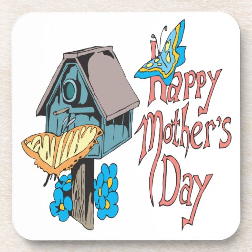 Happy Mothers Day Beverage Coaster