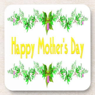 Happy Mothers Day Beverage Coasters