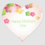 Happy Mother's Day Big Spring Flowers Stickers