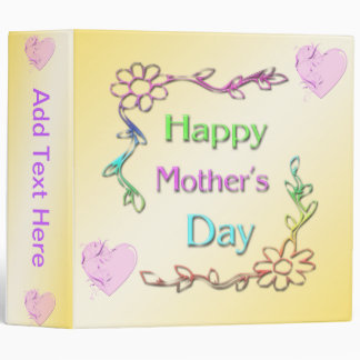 Happy Mother's Day Binder