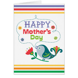 Happy Mother's Day - birdy Greeting Cards