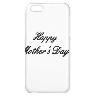 Happy Mother's Day Black The MUSEUM Zazzle Gifts iPhone 5C Cases