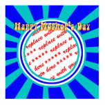 Happy Mother's Day - Blue Retro Photo Frame Cut Outs