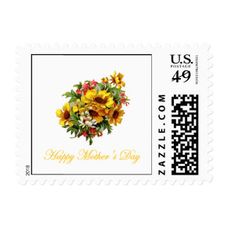Happy Mother's Day (bouquet) Stamps
