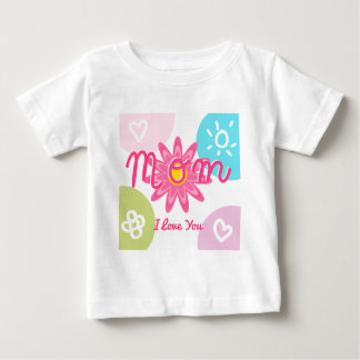 Happy Mother's day  Bright Colorful design Baby T-Shirt
