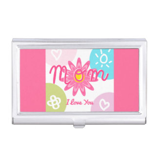 Happy Mother's day  Bright Colorful design Business Card Cases