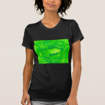 Happy Mother's Day Bright Green Rose T-shirts