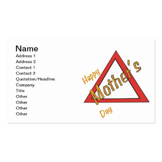 Happy Mothers Day Business Card