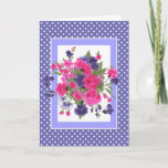 Happy Mother's Day. Butterflies & Flowers Cards