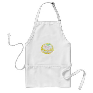 Happy Mother's day cake Adult Apron