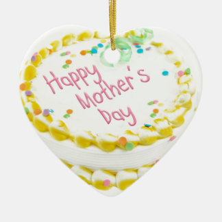 Happy Mother's day cake Christmas Tree Ornament