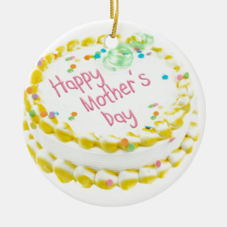 Happy Mother's day cake Ornaments