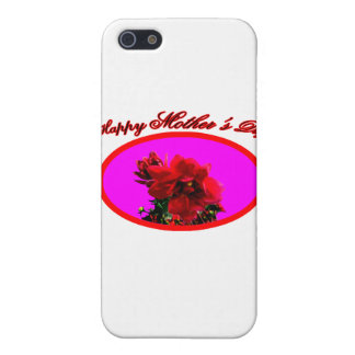 Happy Mother's Day Camellia bg Magenta The MUSEUM iPhone 5 Cases