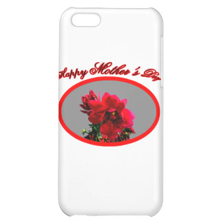 Happy Mother's Day Camellia bg Silver The MUSEUM Z iPhone 5C Cases