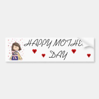 Happy Mother's Day Car Bumper Sticker