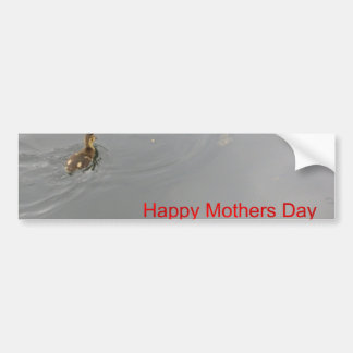 Happy Mothers Day Car Bumper Sticker