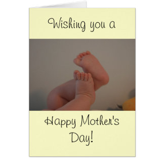 Happy Mother's Day Card with Memories Saying
