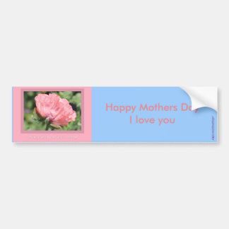 Happy Mother's Day Cards, Gifts Car Bumper Sticker