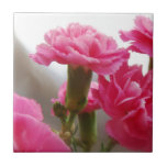 Happy Mother's Day - Carnation Tiles