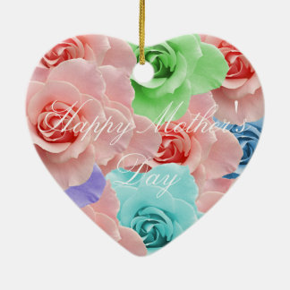 Happy Mother's Day Ceramic Ornament