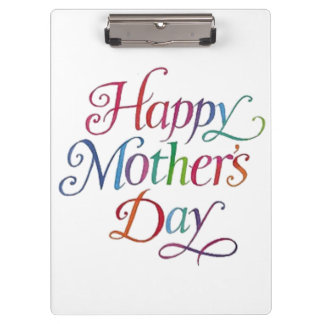 Happy Mother's Day Clipboard