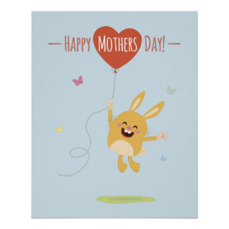 Happy Mothers Day Coffee poster