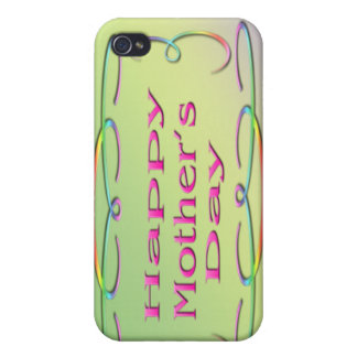 Happy Mother's Day  Covers For iPhone 4