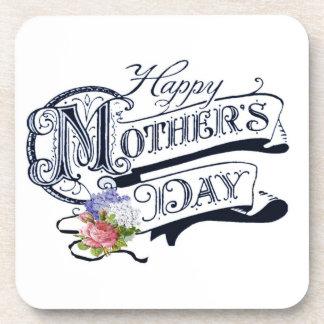 Happy Mother's Day Custom Cork Coaster