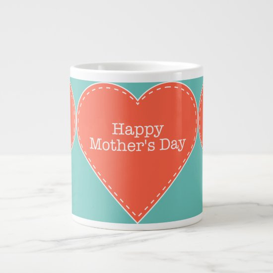 Happy Mother's Day Custom Jumbo Mug
